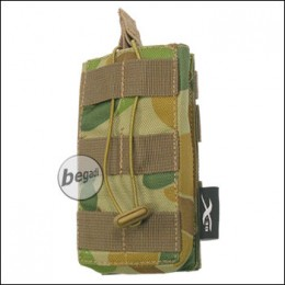 BE-X Open Mag Pouch, single, für M4 / M16 - auscam