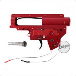 Begadi CNC Alu V2 QD Gearbox Shell 8mm, mit Microswitch, verkabelt (frei ab 18 J.)