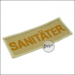 """Aufnäher """"Sanitäter"""", neue Version - TAN"""