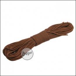 "BE-X Paracord ""Brown - solid"", 550lbs, 30m"