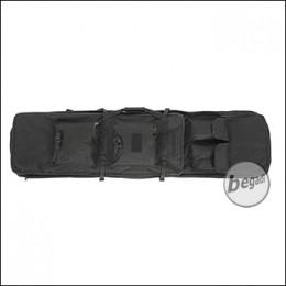UFC Langwaffentasche / Futteral mit 4 Aussentaschen, 120cm - schwarz