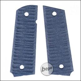 Alumide Griffschalen für BFA SA1911S Competition GBB -blau-