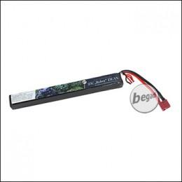 """Begadi LiPo Akku 11,1V 25C Single Stick """"Robur 11.1/165/1300"""" mit Dean"""