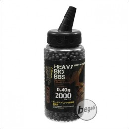 2.000 S&T BIO BBs 6mm 0,40g schwarz - im Feeder