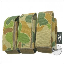 "BE-X Tasche ""40mm Shell"", triple - auscam"