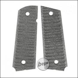 Alumide Griffschalen für BFA SA1911S Competition GBB -grau-