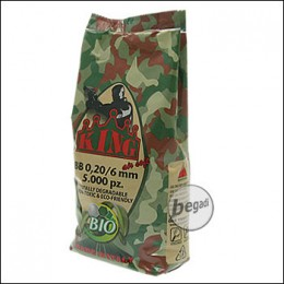 5.000 SUPER KING AIRSOFT BIO BBs 6mm 0,20g hell