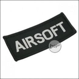"""Aufnäher """"Airsoft"""", neue Version - schwarz"""