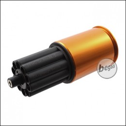 ICS Lightweight 40mm Granate, 70 BBs, schwarz/gold (frei ab 18 J.) [MA-158BG]