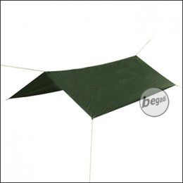 BE-X Tarp, Wilderness, SilNylon, 200x250cm - olive