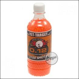 2.700 1ST TARGET DELIGHT BBs 6mm 0,12g orange in Fl. -Airblister