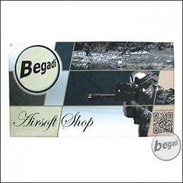 """Begadi Fahne """"Airsoft"""", Fotodruck, 60x120cm, mit Ösen"""