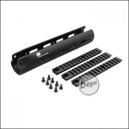 SAR M41/43 TRI RAIL Handguard (23,2cm) - schwarz