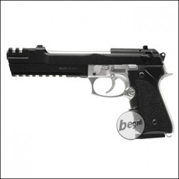 "HFC Long Barrel M9 Bicolor (HA-118EL) ""Begadi Edition"" < 0,5 J."