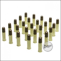 25er Pack  Ersatzhülsen für Dan Wesson Revolver -6mm-
