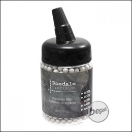 1.000 ROEDALE PRECISION BBs 6mm 0,36g in Flasche - hell