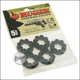 Ersatztrommeln für Ruger CO2 Revolver (5er Pack) [2.5680.1]