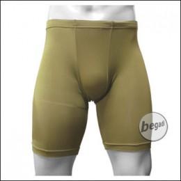 BE-X Leichte Shorts, Tan - Gr. S