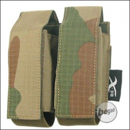 """BE-X Tasche """"40mm Shell"""", double - V2, Rip Stop - rooivalk"""