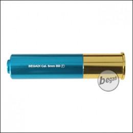 Haw San FS-0521 Ersatz Shotgun Hülse, blau/gelb (frei ab 18 J.)