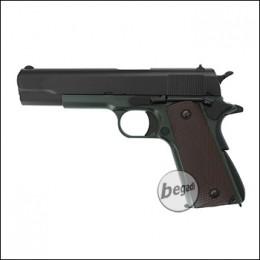 "KJW M1911 ""PRO"" GBB, olive, Gas Version (frei ab 18 J.)"