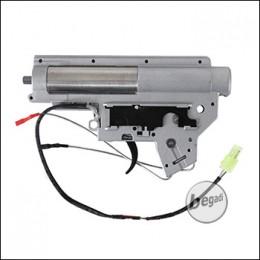 Begadi V2 QD 8mm Gearbox, komplett - nach vorne verkabelt (frei ab 18 J.)