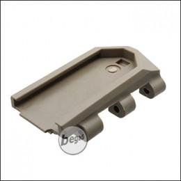 WE MK16 / MK17 GBB Part No. 66 - Stock Adapter, TAN