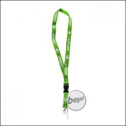 WE Schlüsselband - grün/weiss