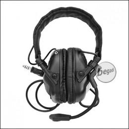 EARMOR -Universal- Headset M32 mit Schallschutz - schwarz [M32-BK]