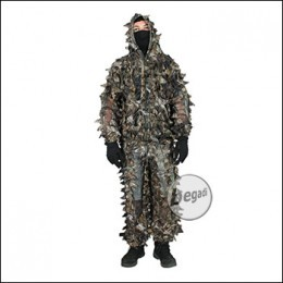 "BE-X Ultraleicht Ghillie ""Natural Blind© 3D"", braun"