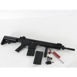 A&K K25 CQB / CARBINE S-AEG, schwarz + ASCU 5  + M130 Tuning (frei ab 18 J.)