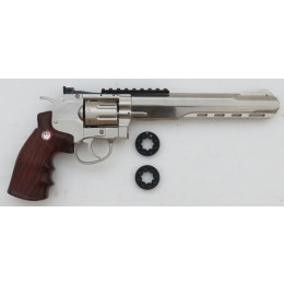 Ruger Super Hawk  CO2 Softair Revolver chrom - (frei ab 18 J.)