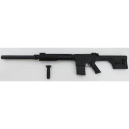 A&K K25 DMR S-AEG mit Sniper-Festschaft, inkl. Silencer (frei ab 18 J.) mit umfangreichem Tuning + Begadi Core
