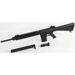 A&K K25 LONG / DMR S-AEG, schwarz, mit starkem K25 Tuning M140 und Retro Arms Shell (frei ab 18 J.)