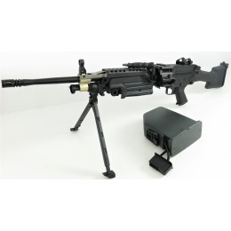A&K M249 MK2 LMG AEG -schwarz- < 0,5 J.