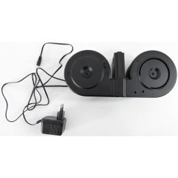 """A&K M4 / M16 Elektro Drum Mag """"Dual Edition"""" (3000 BBs)"""