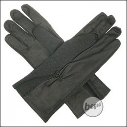 BE-X NOMEX Handschuhe, lang, Schwarz
