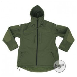 BE-X Softshell Parka, oliv