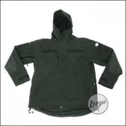 BE-X Softshell Parka, Schwarz