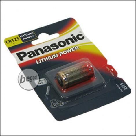 1 Panasonic battery 3.0V Lithium CR123A