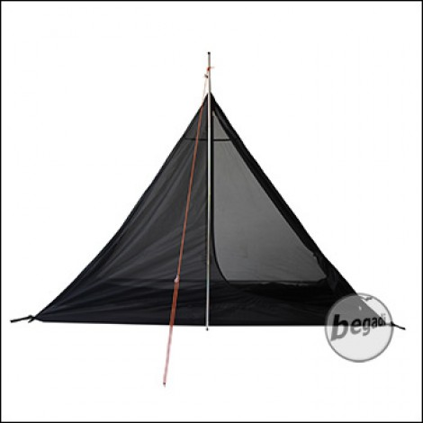 & FIBEGA Inner Tent for Pyramid tent for 1 person black