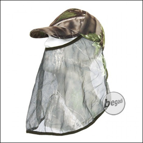 "BE-X Snipers Cap ""Natural Blind© 3D"", green - unisize"