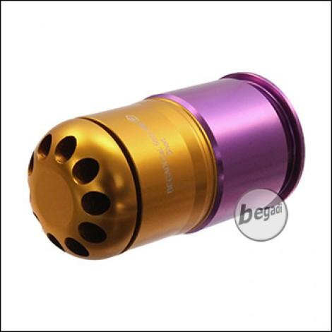 "PHX 40mm Grenade ""Short"", 50 BBs, gold/purple (only 18yrs.+)"