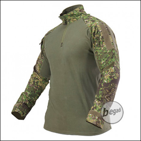 "BE-X FronTier One UBACS Field Shirt ""Combat Shirt"", PenCott Greenzone"