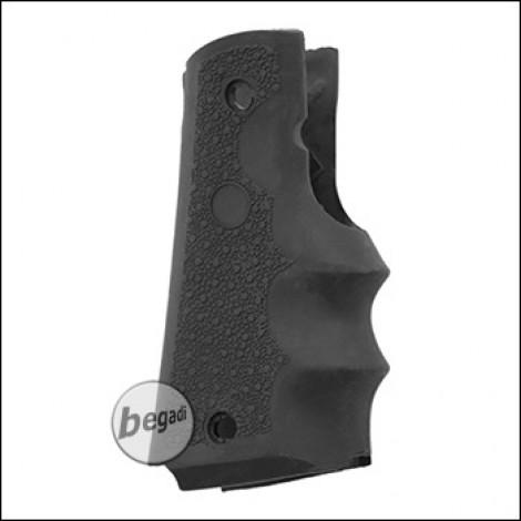 Begadi Rubber Grip for KJW & WE M1911 GBBs -black-