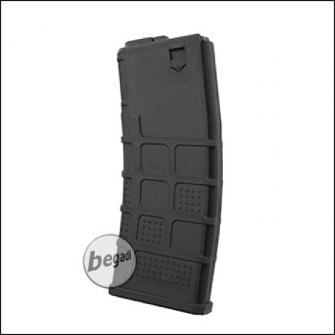 Airsoft Systems M4 / M16 Polymer Midcap Magazine, Black (85 BBs)