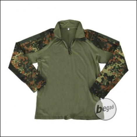 """BE-X FronTier One UBACS Field Shirt """"Combat Shirt"""", flecktarn"""