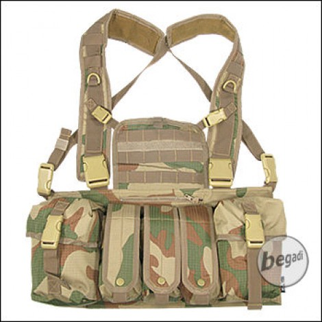 "BE-X Chest Rig ""TYR"" - V2, Rip Stop - rooivalk"