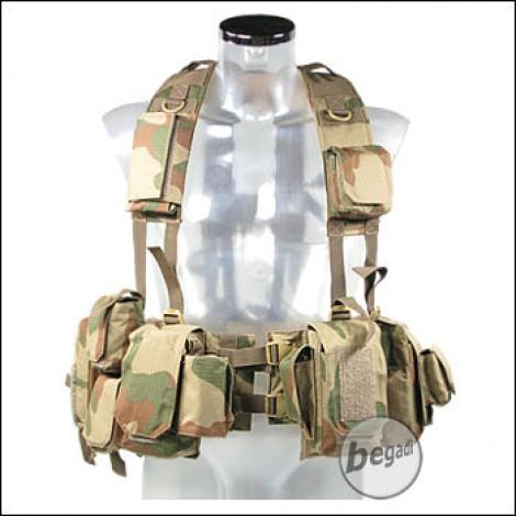 "BE-X Combat Webbing ""EPHOD"" / IDF Vest - V2, Rip Stop - rooivalk"