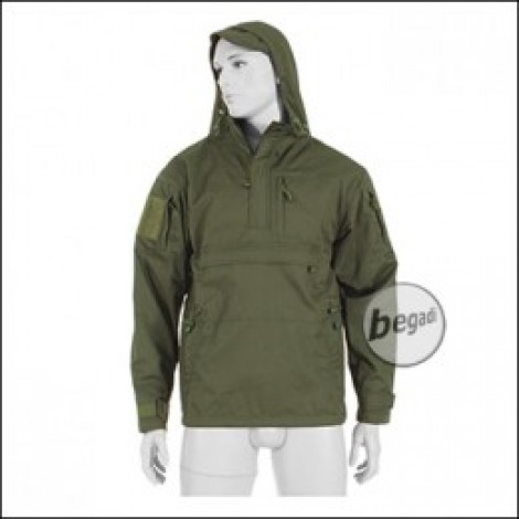e51f4bffff80 BE-X Windproof Anorak, Pure Cotton, OD green - Jackets - Jackets & Top  Layer - Clothing